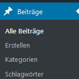 Kategorie in WordPress erstellen