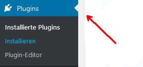 Plugin mit WordPress installieren